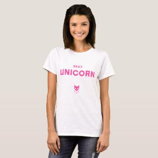Sexy Unicorn Basic T-Shirt