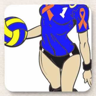 SEXY VOLLEY GIRL DRINK COASTER