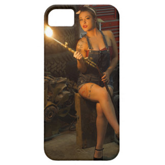 sexy welder girl iPhone 5 covers
