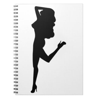Sexy Woman Note Books