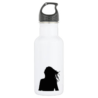 Sexy woman sitting indian style 532 ml water bottle