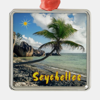 Seychelles Christmas Ornament