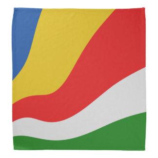 Seychelles Flag Bandana
