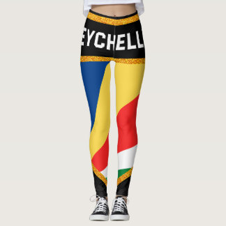 Seychelles Flag Leggings