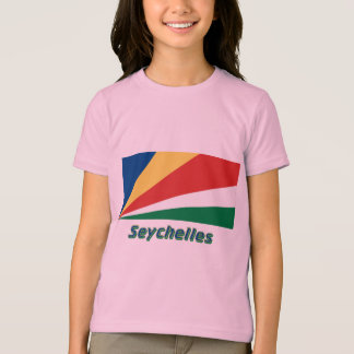 Seychelles Flag with Name T-Shirt