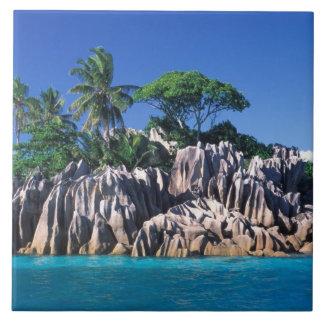 Seychelles. Ilot St. Pierre (near Praslin Tile