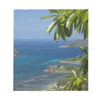 Seychelles, Island of Mahe. Western coast of Notepad