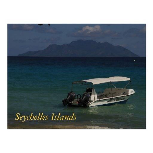 Seychelles Islands Postcard