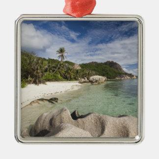 Seychelles, La Digue Island, L'Union Estate Christmas Ornament