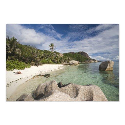 Seychelles, La Digue Island, L'Union Estate Photographic Print
