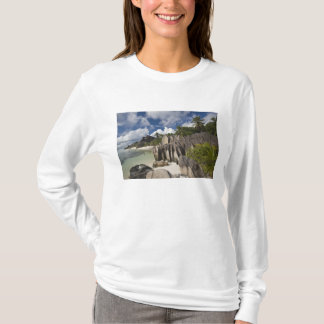 Seychelles, La Digue Island, L'Union Estate T-Shirt