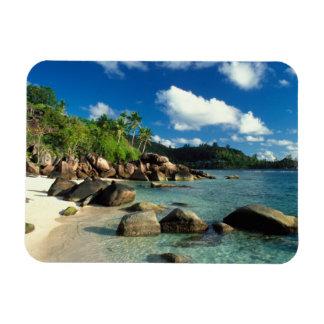 Seychelles, Mahe Island, Anse Royale Beach. 3 Magnet