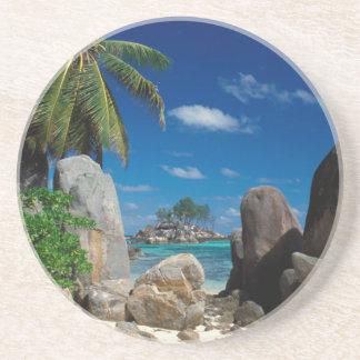 Seychelles, Mahe Island, Anse Royale Beach. Coaster