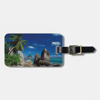 Seychelles, Mahe Island, Anse Royale Beach. Luggage Tag