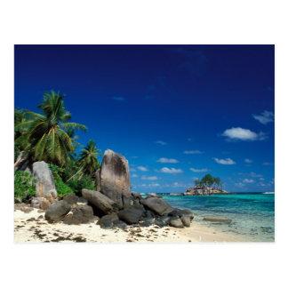 Seychelles, Mahe Island, Anse Royale Beach. Postcard