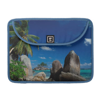 Seychelles, Mahe Island, Anse Royale Beach. Sleeve For MacBooks