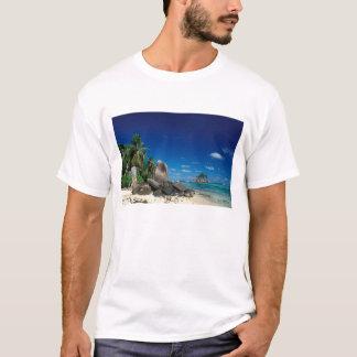 Seychelles, Mahe Island, Anse Royale Beach. T-Shirt