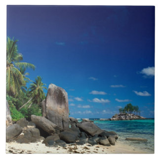 Seychelles, Mahe Island, Anse Royale Beach. Tile