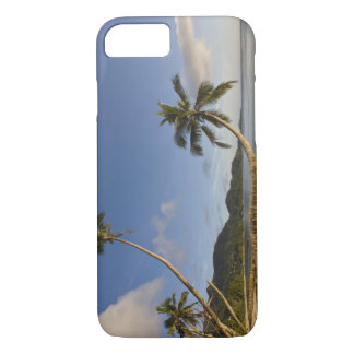 Seychelles, Mahe Island, horizontal palm, iPhone 8/7 Case