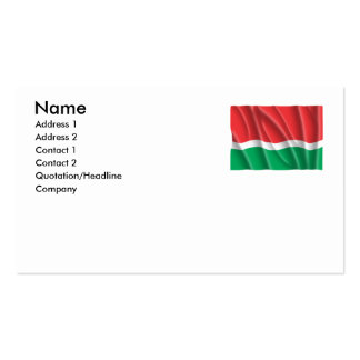 SEYCHELLES OLD BUSINESS CARD TEMPLATE