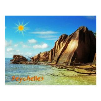 Seychelles Postcard