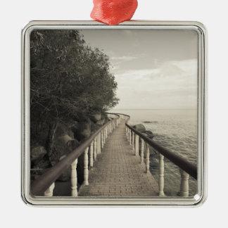 Seychelles, Praslin Island, Anse Bois de Rose, Christmas Ornament