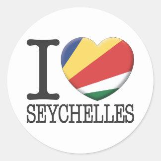 Seychelles Sticker
