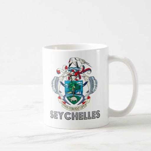 Seychellois Emblem Mug