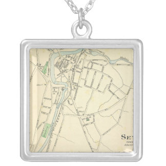 Seymour, E River, Madison Silver Plated Necklace