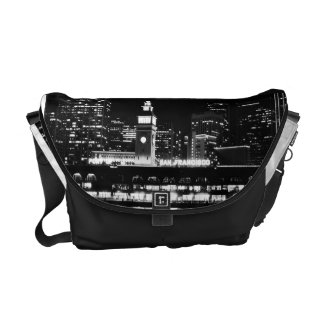 SF at night Rickshaw Messenger Bag