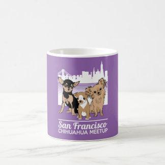 SF Chihuahua Meetup Basic White Mug