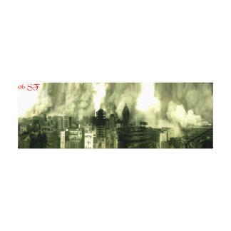 SF Earthquake 06 Canvas Print