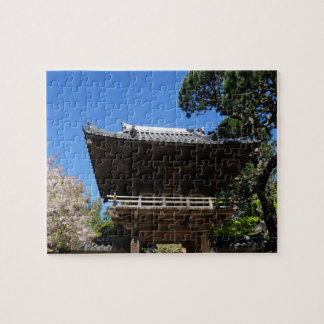 SF Japanese Tea Garden Entrance #3 Jigsaw Puzzle