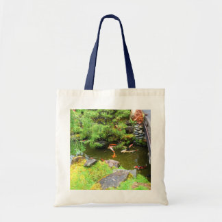 SF Japanese Tea Garden Koi Pond #3 Tote Bag
