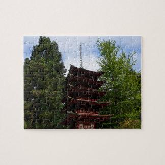 SF Japanese Tea Garden Pagoda Jigsaw Puzzle
