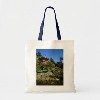 SF Japanese Tea Garden Temple Gate Tote Bag
