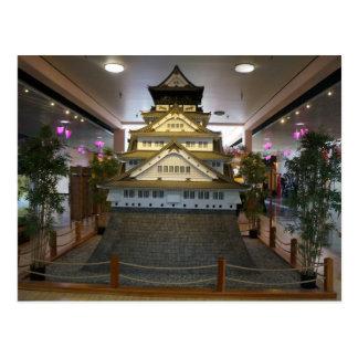 SF Japantown Osaka Castle Replica Postcard