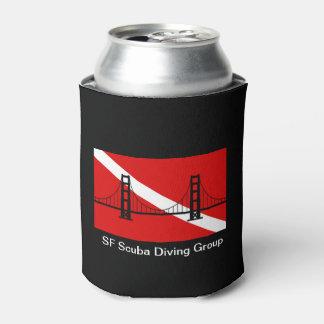 SF Scuba Diving Group logo can cooler