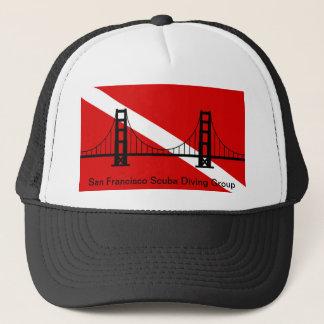 SF Scuba Diving Group logo trucker hat