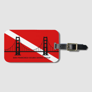 SF Scuba Diving Group luggage tags