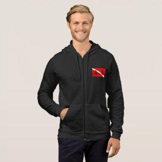 SF Scuba Diving Group men's zippered hoodie