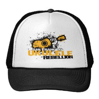 sf Ukulele Logo Hats