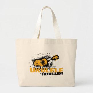 sf Ukulele Logo Jumbo Tote Bag