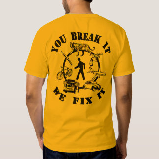 "SFGH Trauma ""You break it we fix it."" T Shirt"
