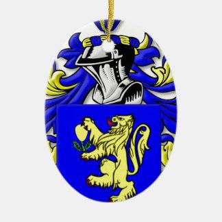 Sforza Coat of Arms Christmas Tree Ornament