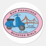 SFSG Round Sticker