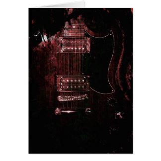 SG Guitar (Grunge) Card