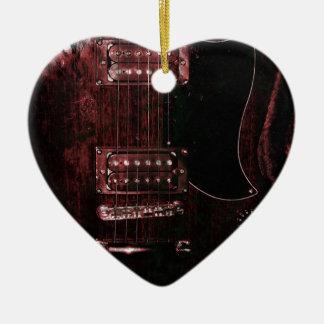 SG Guitar (Grunge) Christmas Ornament