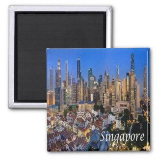SG - Singapore - Panorama Magnet