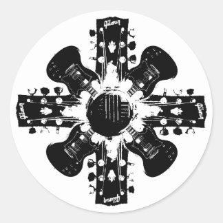 SG Wheel Round Stickers